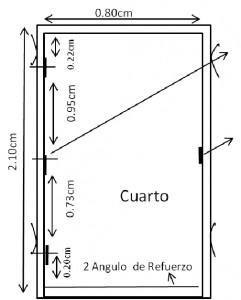 Marcos para puertas y ventanas oci metalmec nica for Medidas estandar de ventanas argentina